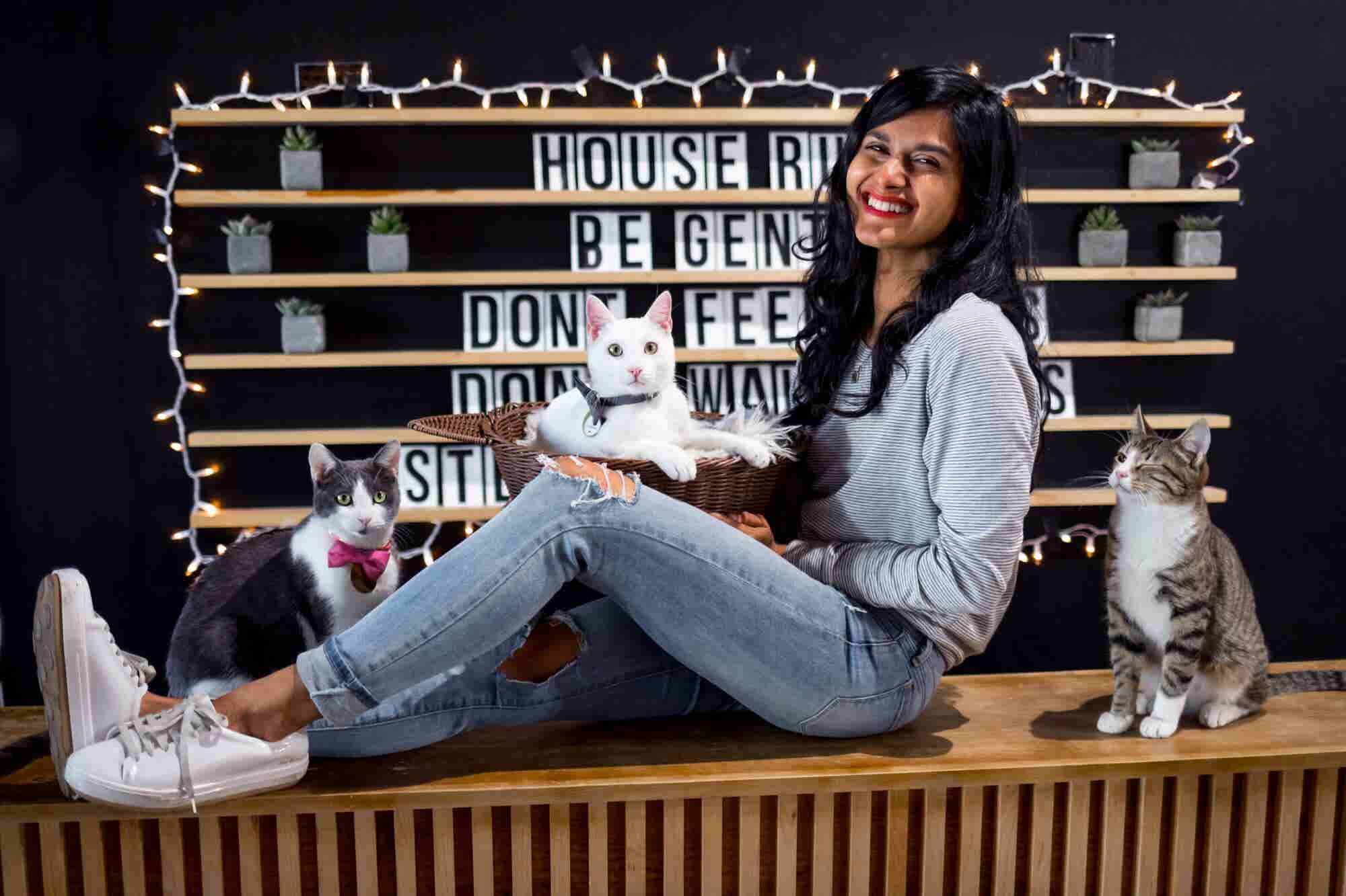 From 'Ow' to 'Meow': A Young Catpreneur Discovers Her Own Meaning of Success