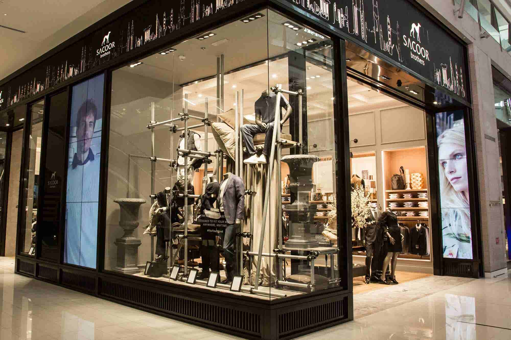 Style Statement: Sacoor Brothers Opens Flagship Store At The Dubai Mall