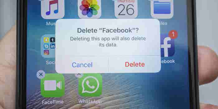 Study Suggests Facebook Users Are Happier If They Leave for a Month