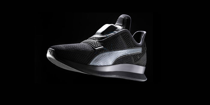 Puma Teases Self Lacing Sneaker to Compete With Nike's