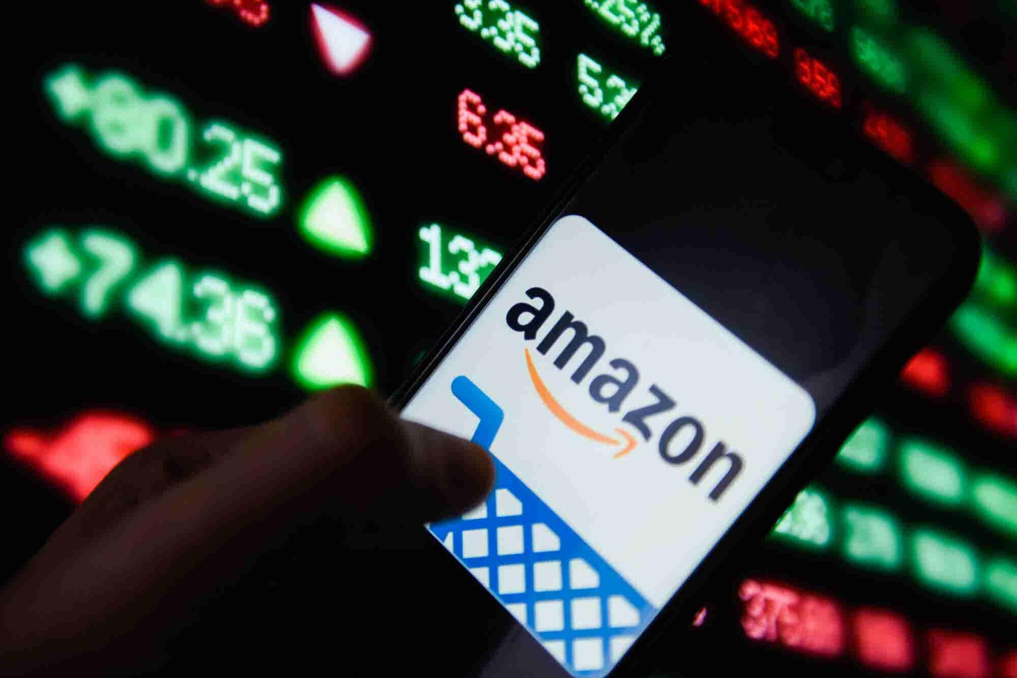 Weak Amazon Outlook Sinks the Market