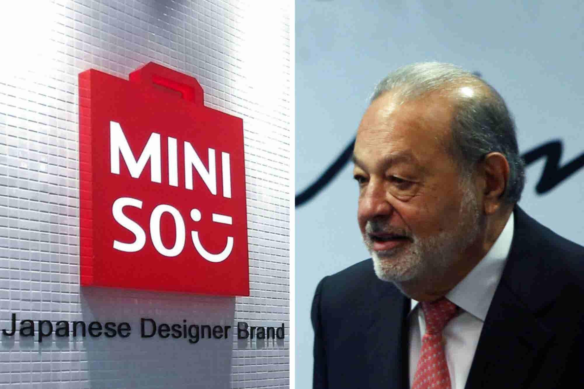 Así es cómo Carlos Slim quiere invertir en Miniso