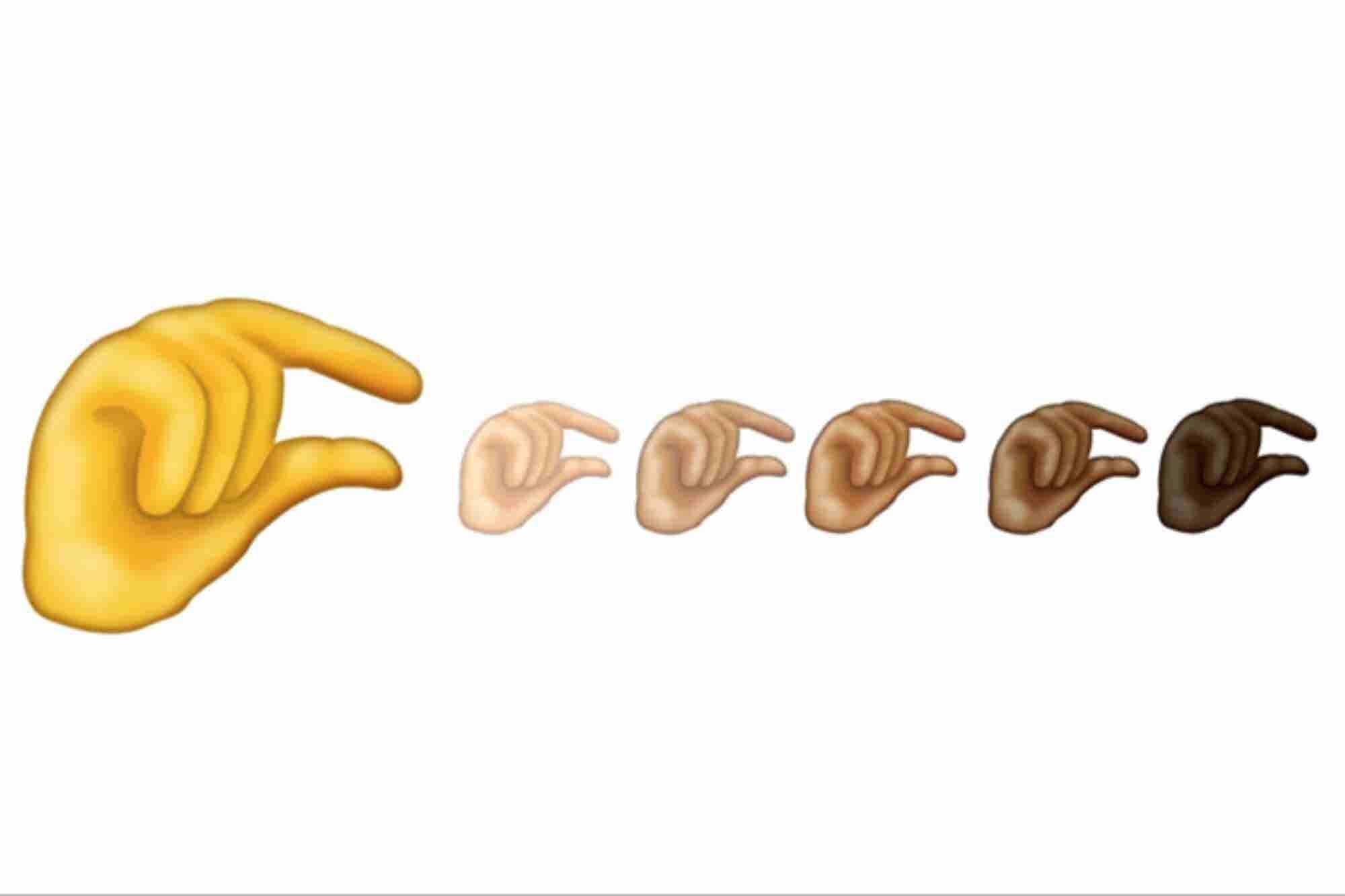 La Emojipedia saca 230 nuevos emojis y el 'pinching hand' es el más comentado en redes