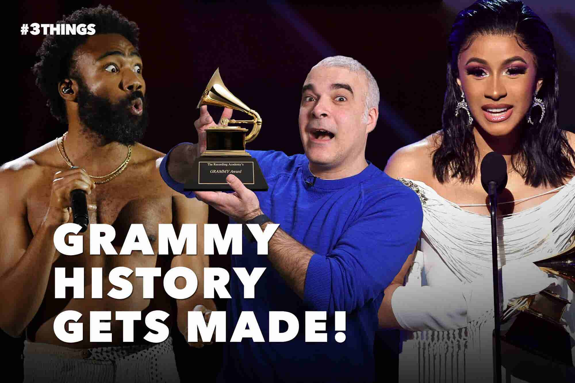 Childish Gambino Makes History and Amazon Makes a Run for It (60-Second Video)