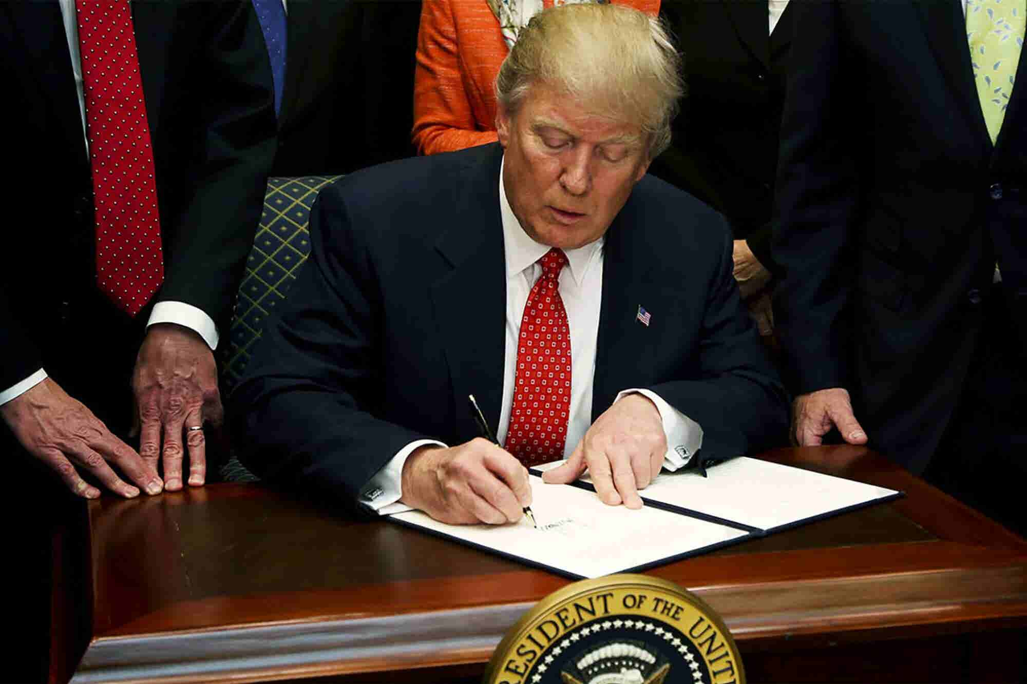 President Trump Signs Executive Order Establishing the 'American AI In...