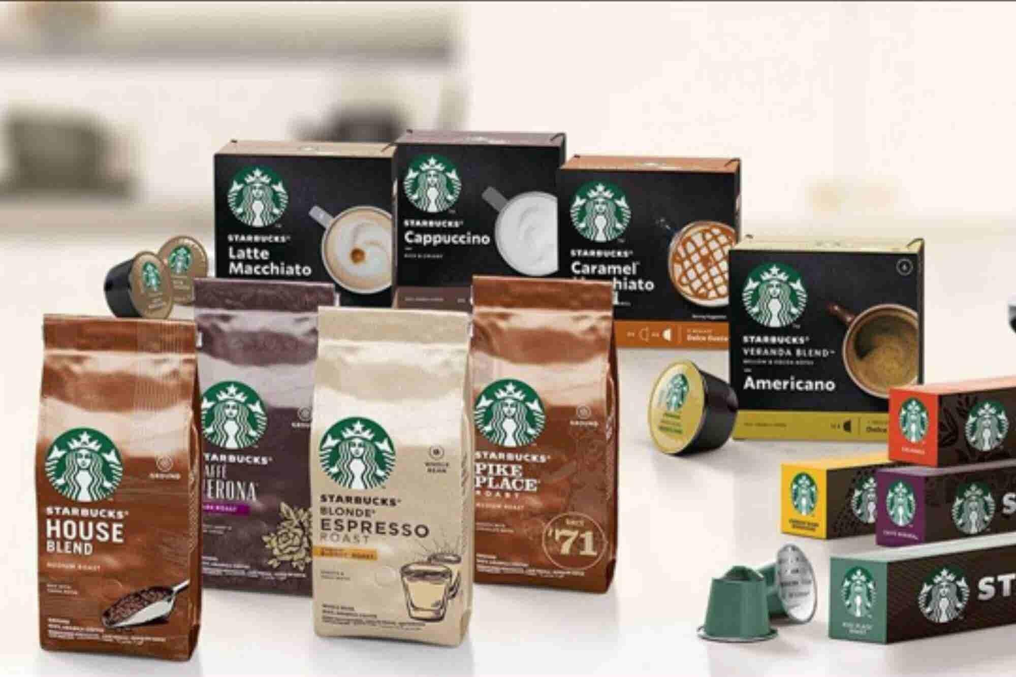 Nestlé lanza cápsulas de café Starbucks