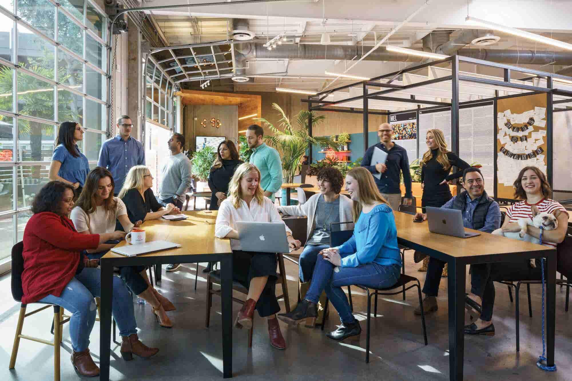 Get Comfortable Inside Dollar Shave Club's California Headquarters