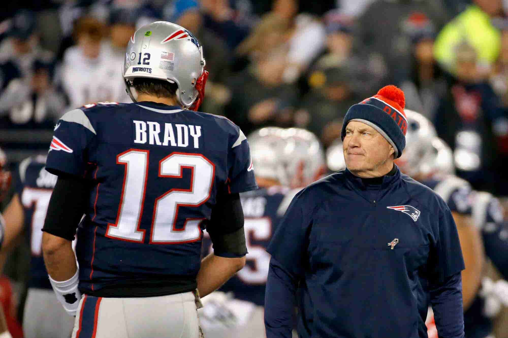 5 Partnership Lessons From Bill Belichick and Tom Brady