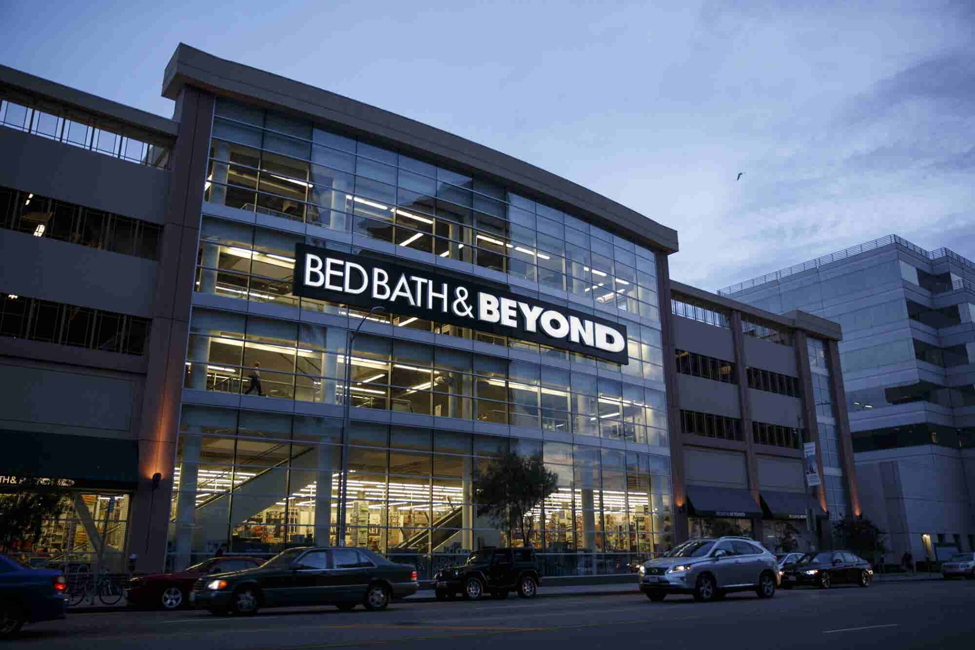 Bed Bath & Beyond (Up 49 Percent This Year) Continues to Rise, but the Market Falls Flat