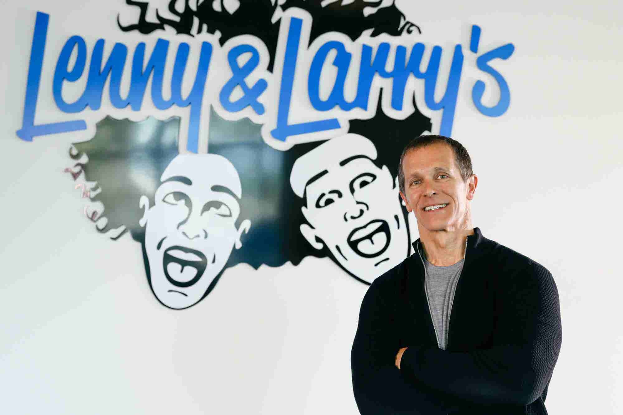 'If You Created it, You Should Be the Best at Everything in Your Company,' Says the Co-Founder of Lenny & Larry's Complete Cookies