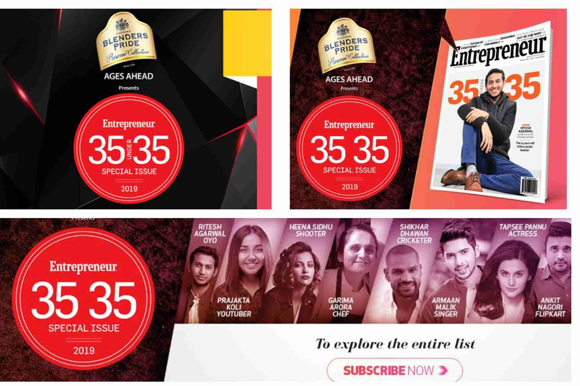 Entrepreneur's 35U35: The Business Spectacle