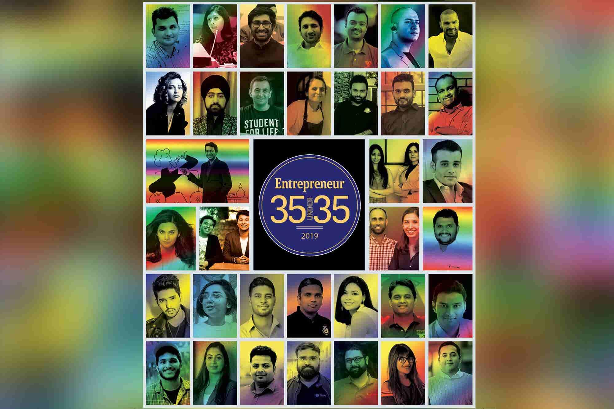 Entrepreneur Reveals its 35 Under 35 Class of 2019