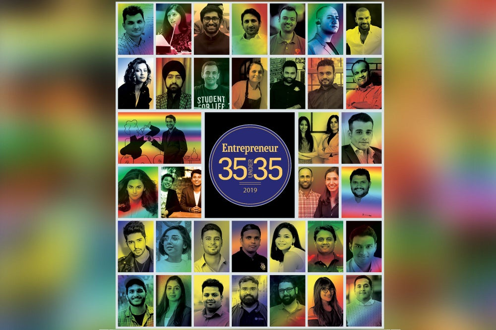 Entrepreneur Reveals its 35 Under 35 Class of 2019