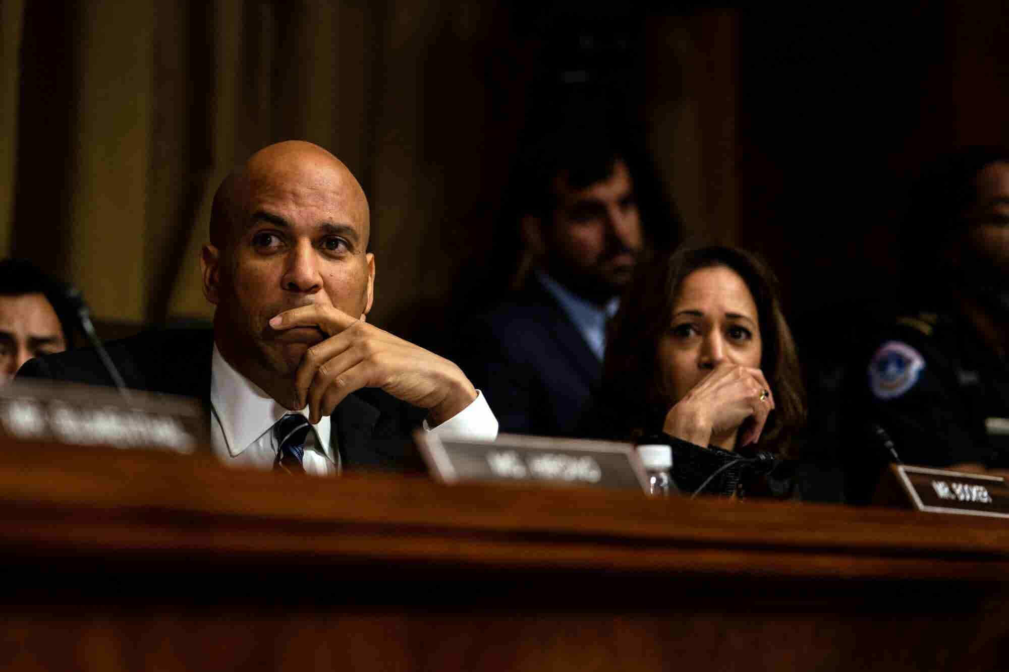 Booker, Harris Push Marijuana Legalization to Center Stage for 2020 Election