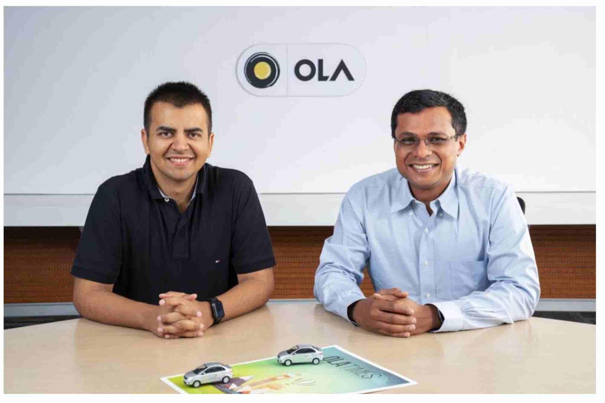 Ola Raises INR 650 Cr from Flipkart Co-founder Sachin Bansal