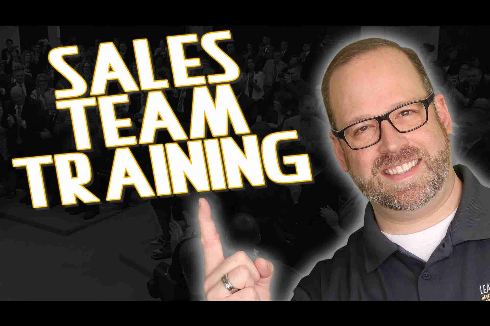 How to Increase Morale and Assert Leadership During Your Sales Team Training