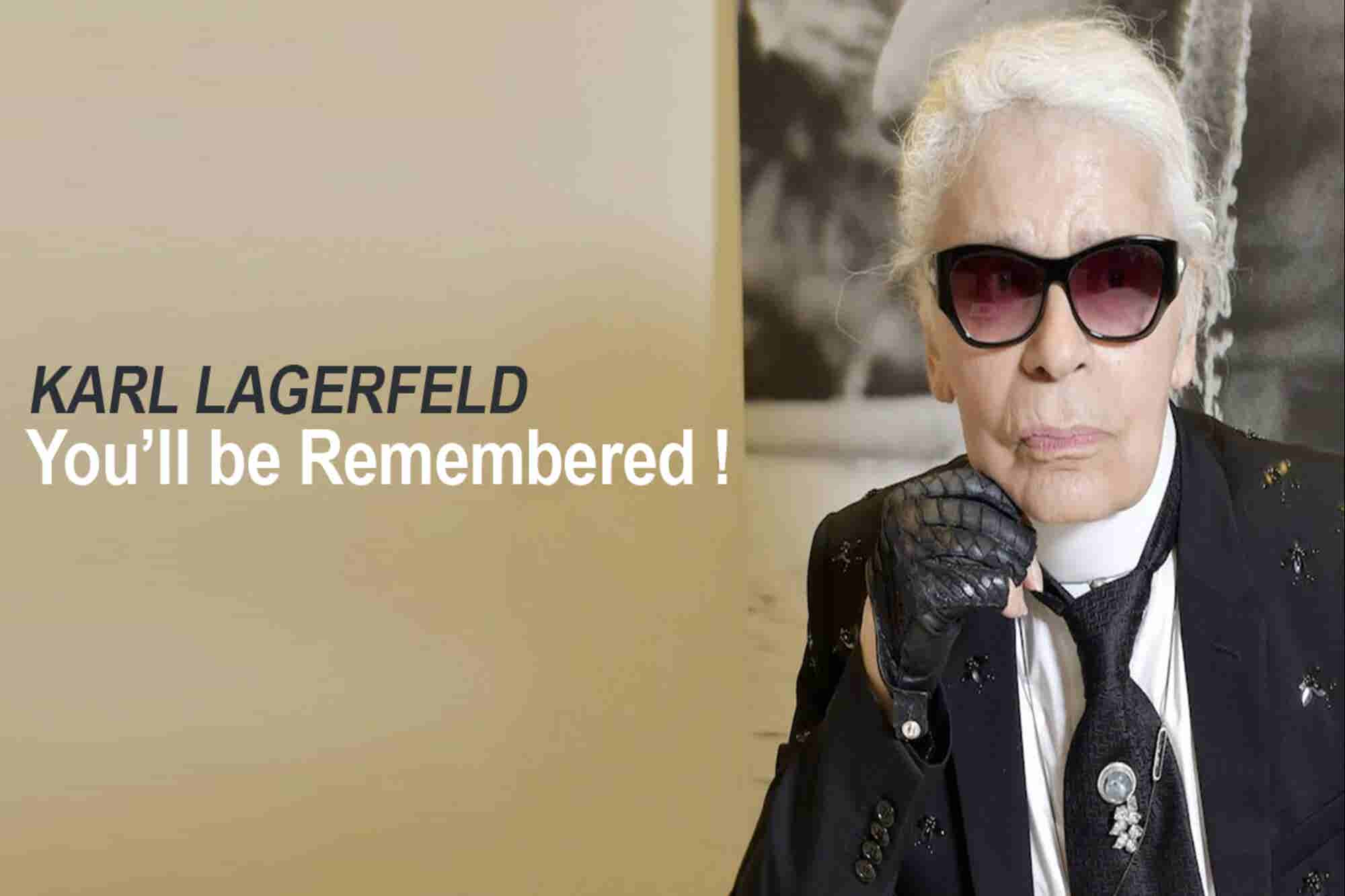 Wednesday Wisdom: 4 Things to Take Back From the Life of Karl Lagerfeld