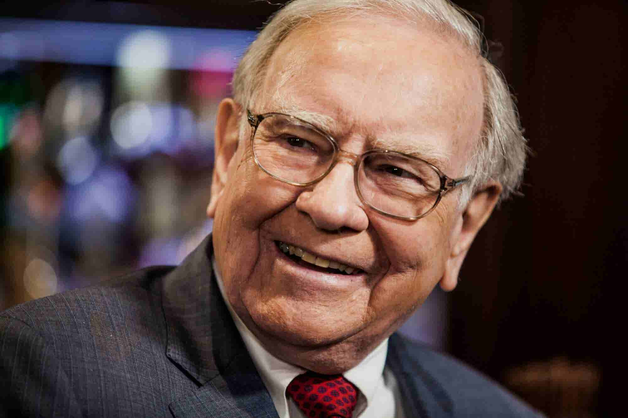 Warren Buffett Says Gratitude and Sharing Success Has Led to His Long-Lasting Fortune