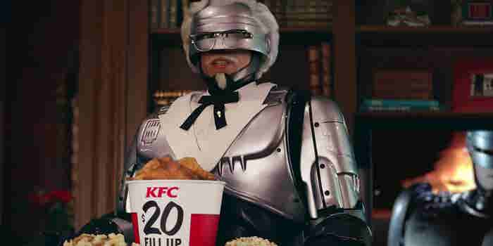 KFC Enlists RoboCop to Protect Secret Recipe in New Campaign