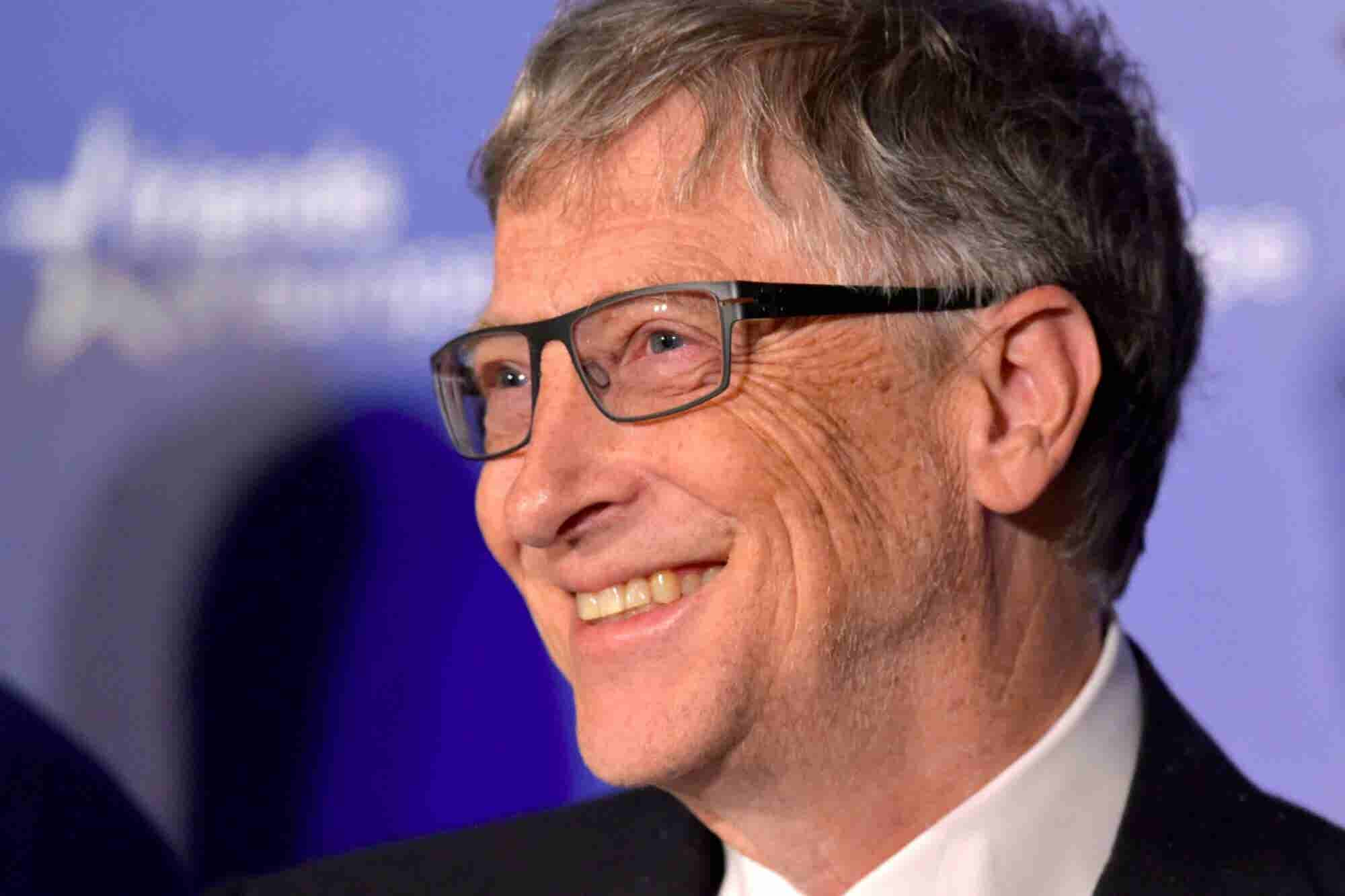 Bill Gates Says His Wealth Has Freed Him From Daily Concerns Like Healthcare