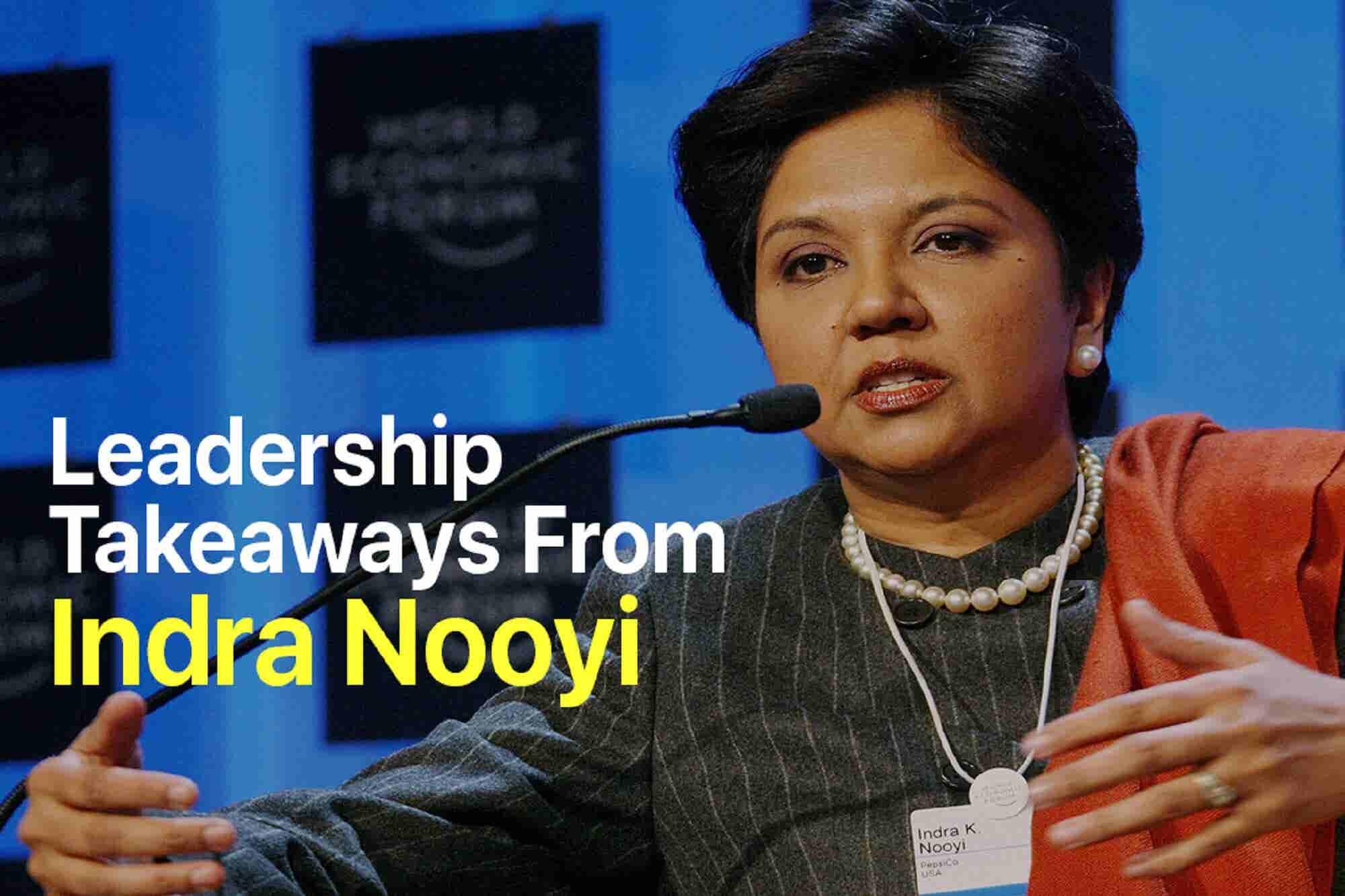 Wednesday Wisdom: Indra Nooyi Joins Amazon's Board of Directors. Here Are 4 Leadership Takeaways from the Businesswoman