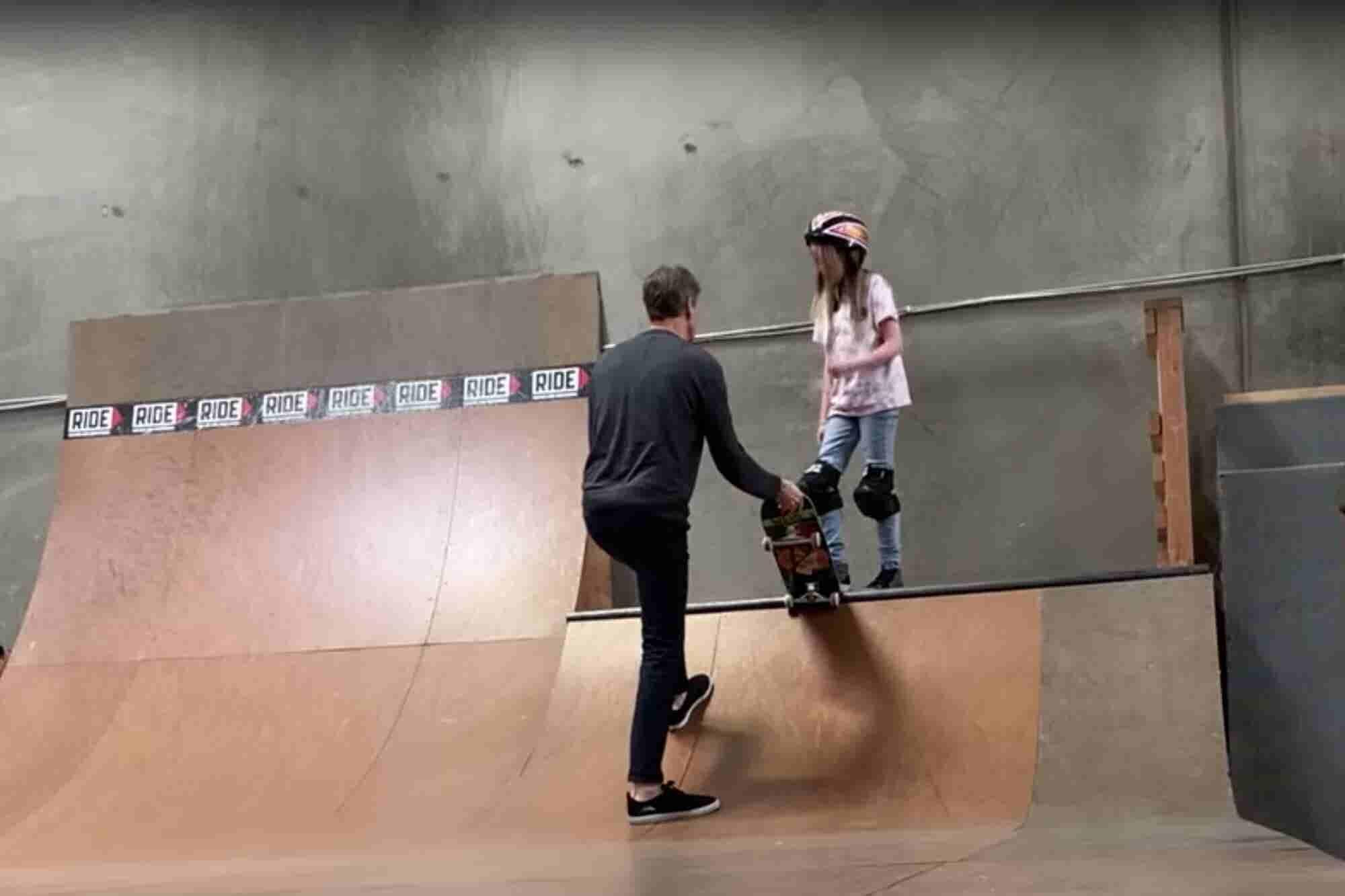 El video viral de Tony Hawk que muestra que emprender es como lanzarse al vacío en una patineta