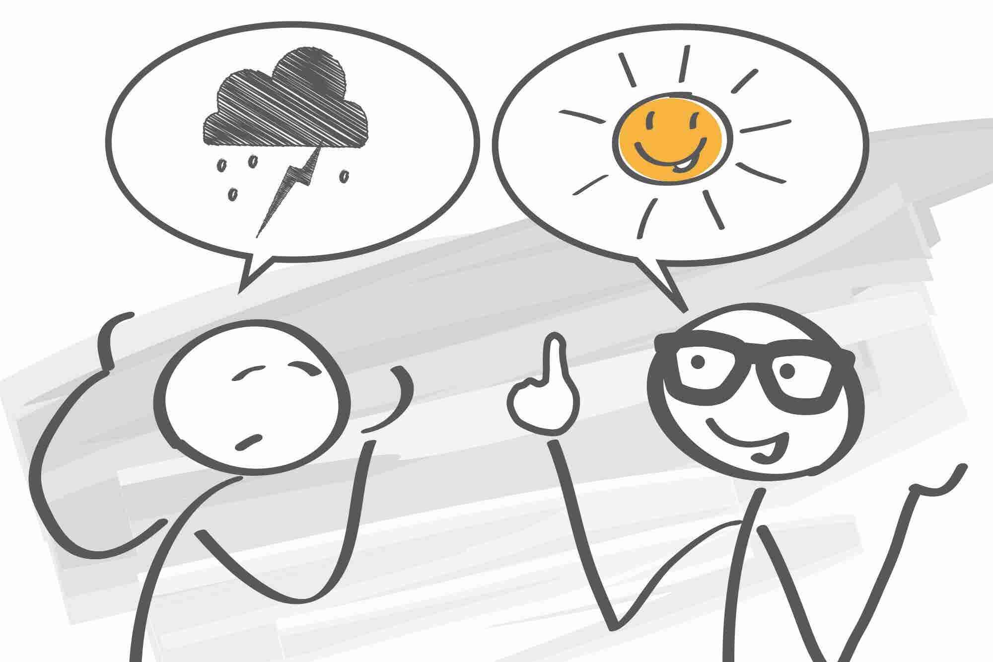 Infografía: 7 claves para ser optimista