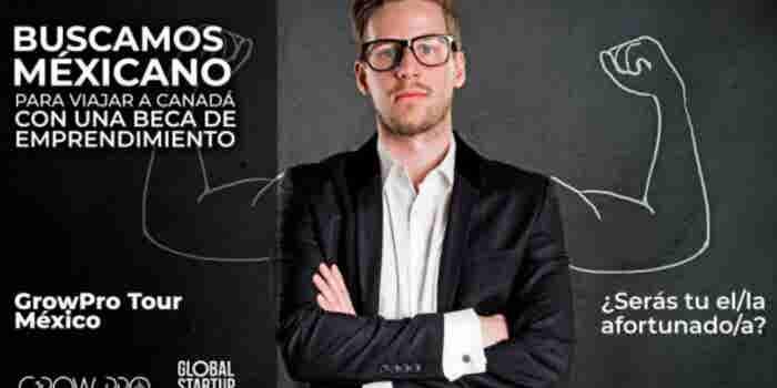 Se busca mexicano que quiera una beca de emprendimiento en Vancouver