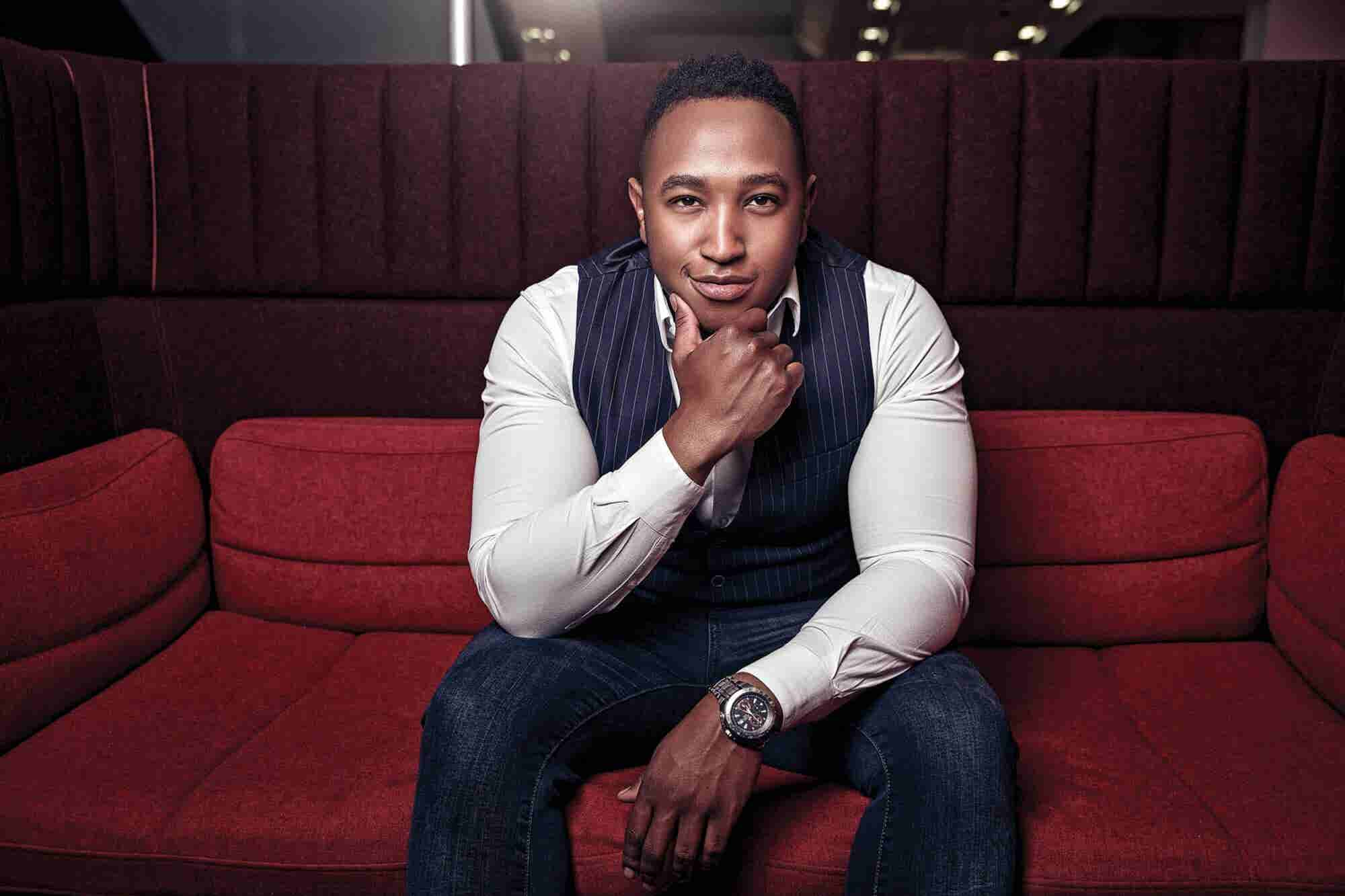How Lesego Maphanga Is Building His Personal Brand