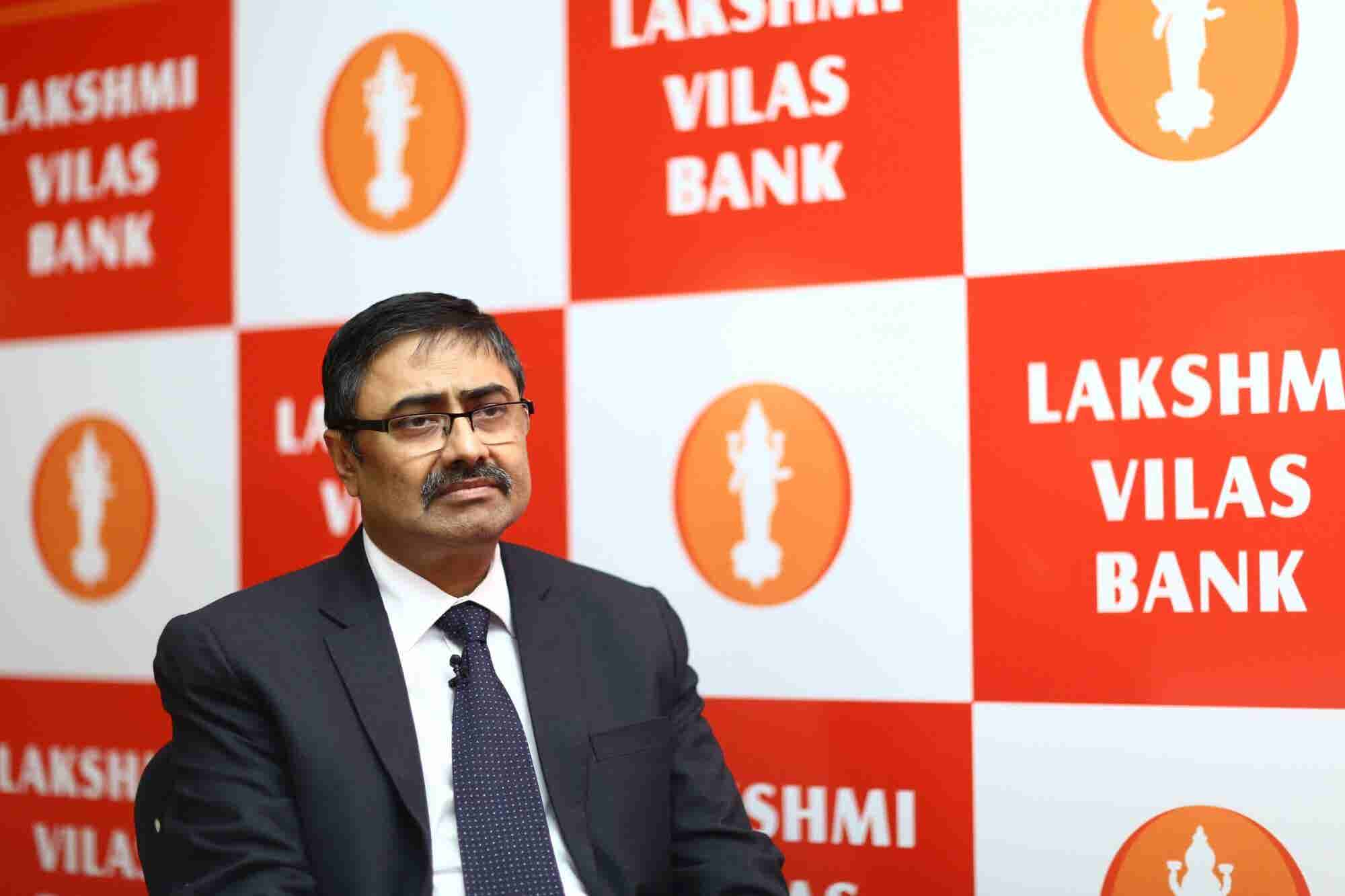 Lakshmi Vilas Bank's MD Shares Why Bankers Should Take Lessons from New Age Fintech Lenders