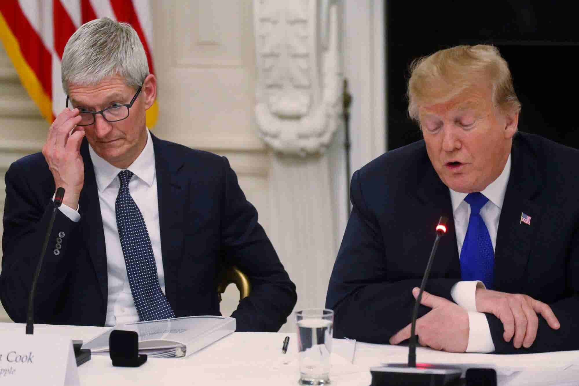 President Trump Just Referred to Apple's CEO as 'Tim Apple'