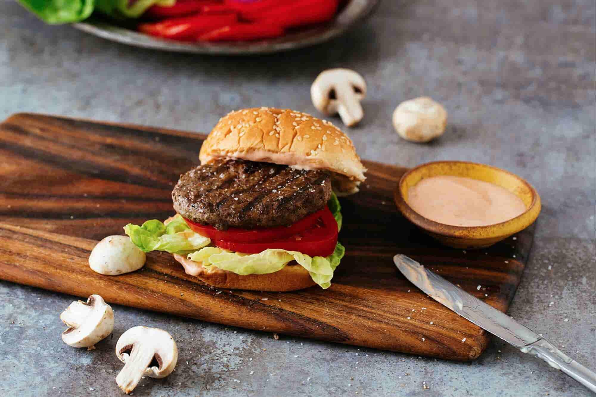 La hamburguesa hecha con carne para los 'carnívoros conscientes'