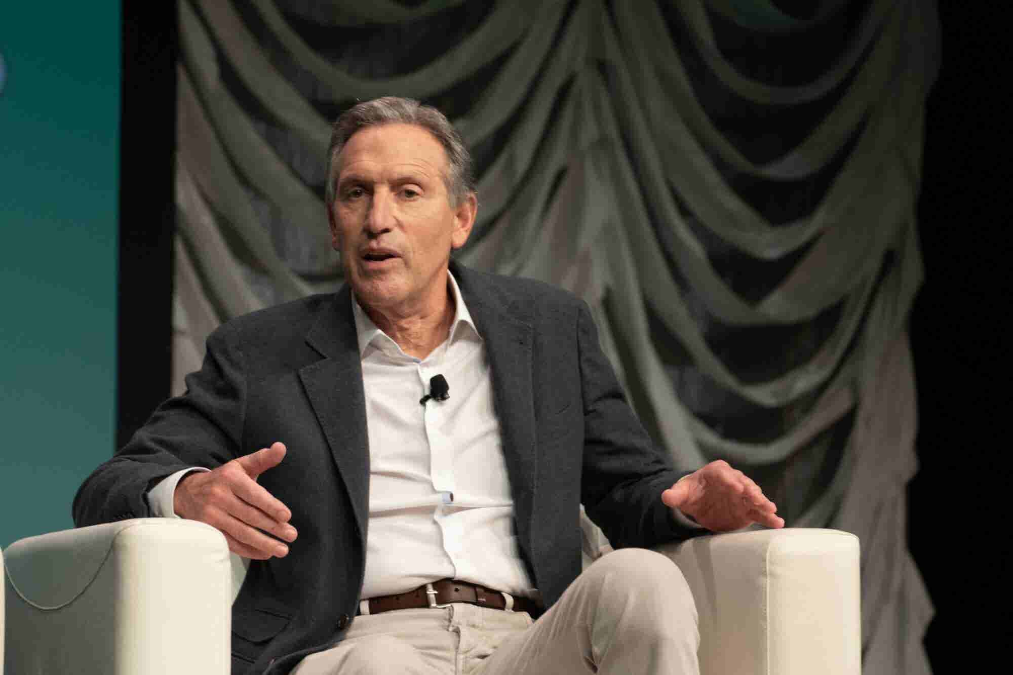 Exclusive: Former Starbucks CEO Howard Schultz Disputes the Polling on His Chances for Success at the Presidency