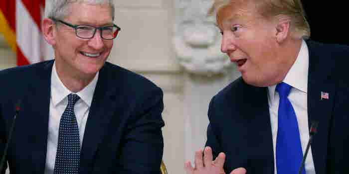 President Trump Is Lashing Out Over the 'Tim Apple' Snafu, Claims He Said It to 'Save Time and Words'