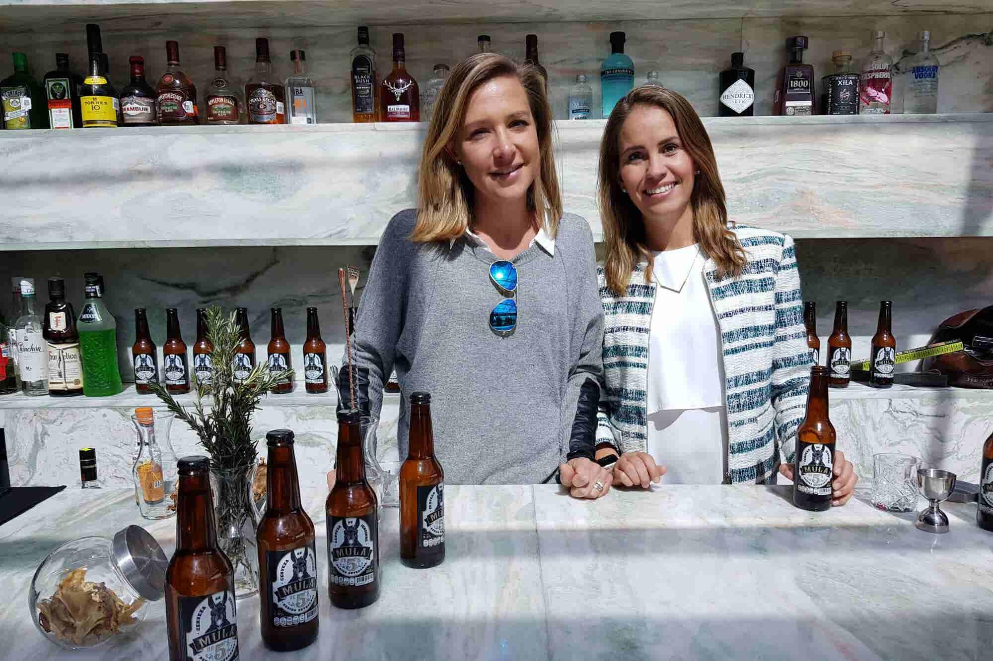 La 'mula mexicana' de dos emprendedoras que quieren competirle a Canada Dry