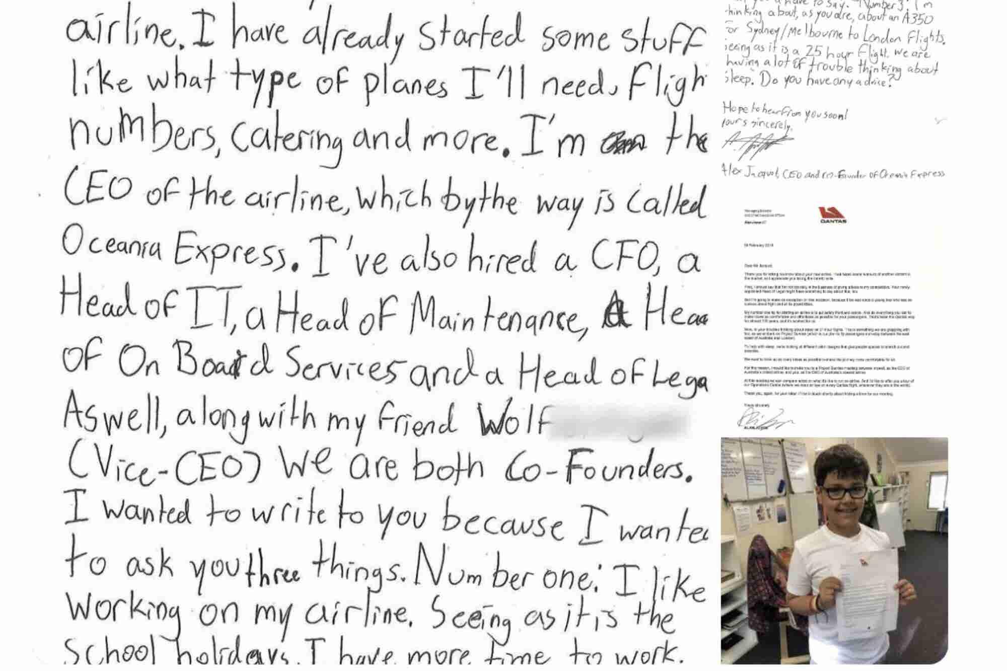 La inspiradora respuesta de un poderoso CEO a un 'rival' de 10 años que le pidió un consejo