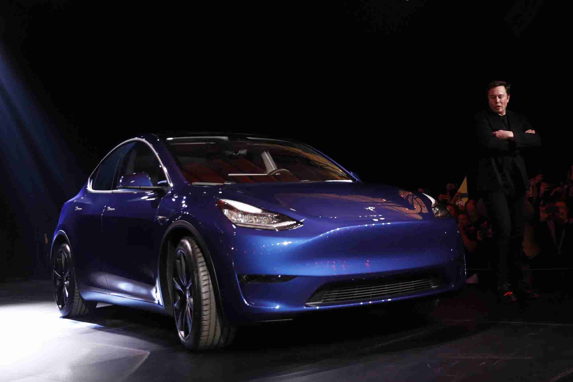 The New Tesla Model Y Gets Chilly Reception and Drives Company Shares...