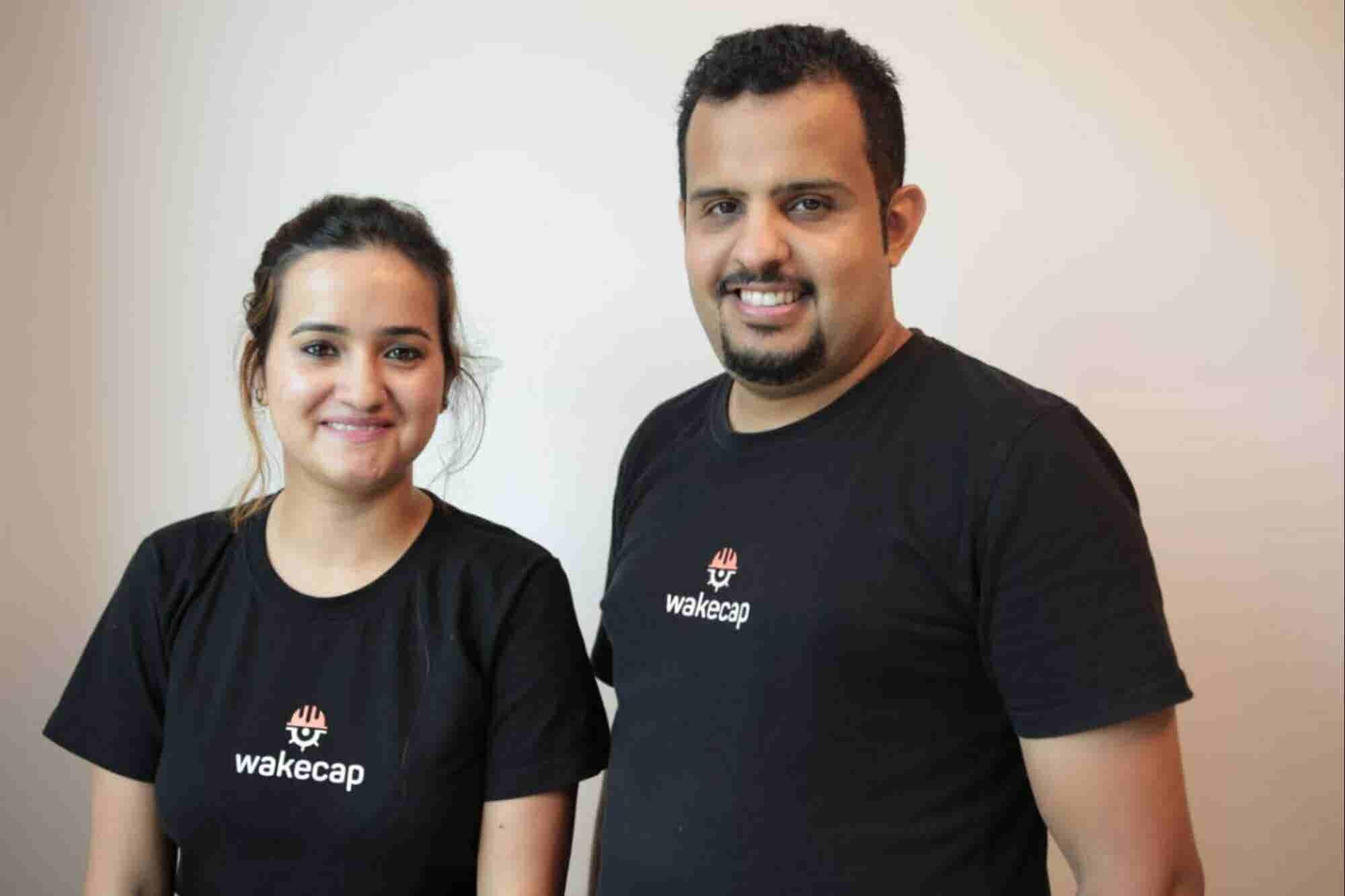 Better Together: Co-Founders Of Dubai-Based Startup WakeCap Hassan Albalawi And Ishita Sood Talk Partnership Pros