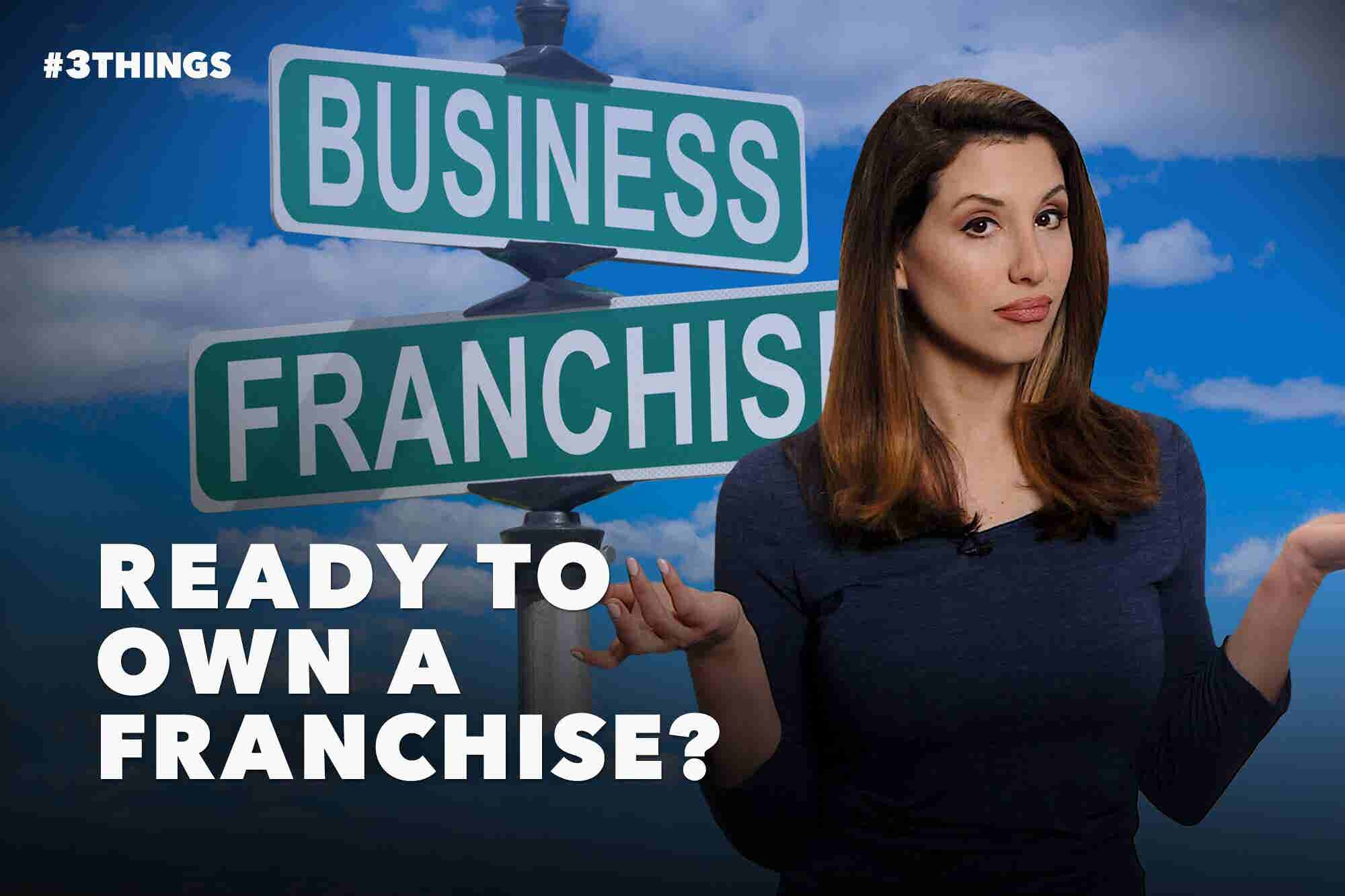 How to Buy an Existing Franchise (60-Second Video)