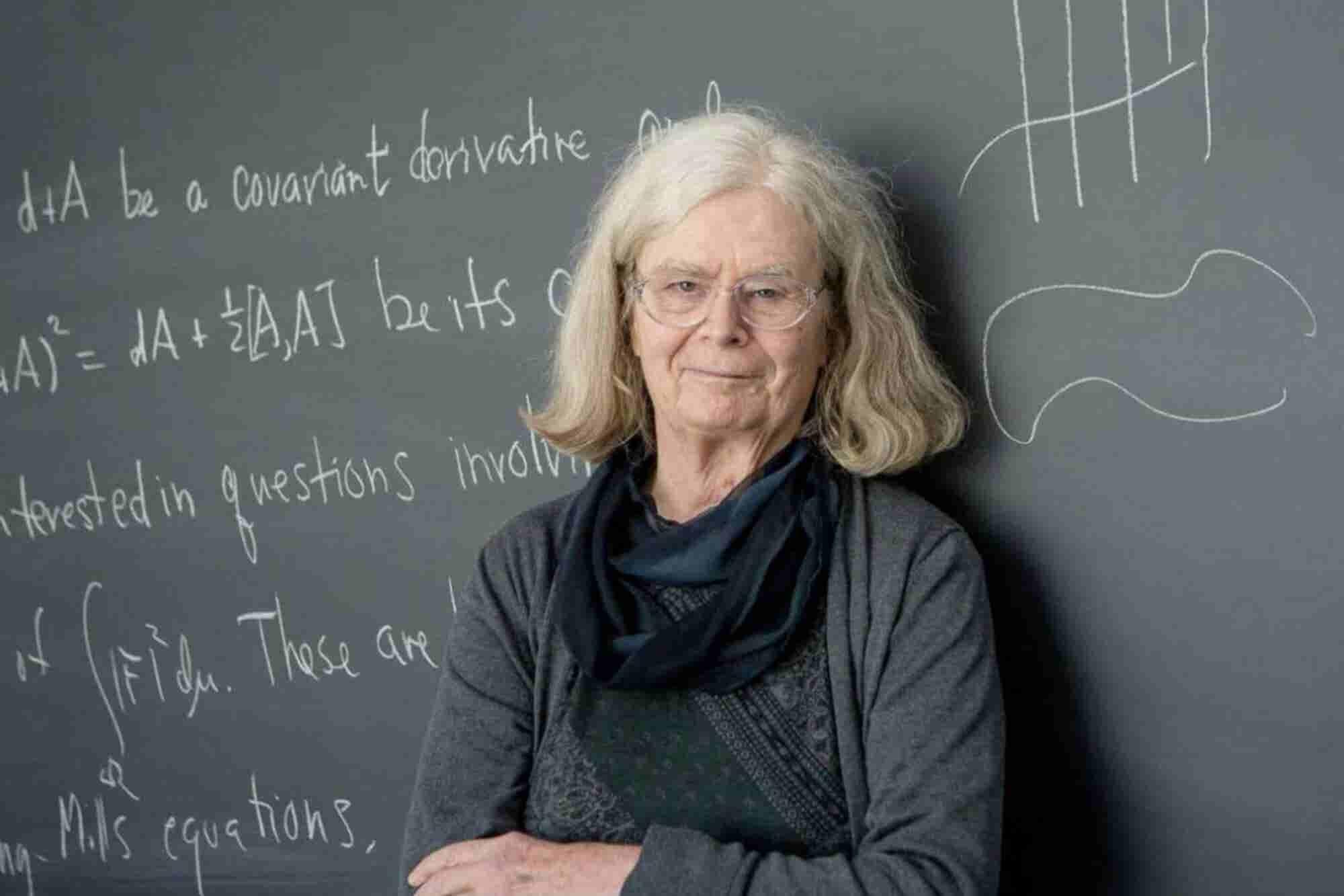 Ella es la primera mujer en ganar el 'Premio Nobel de Matemáticas'