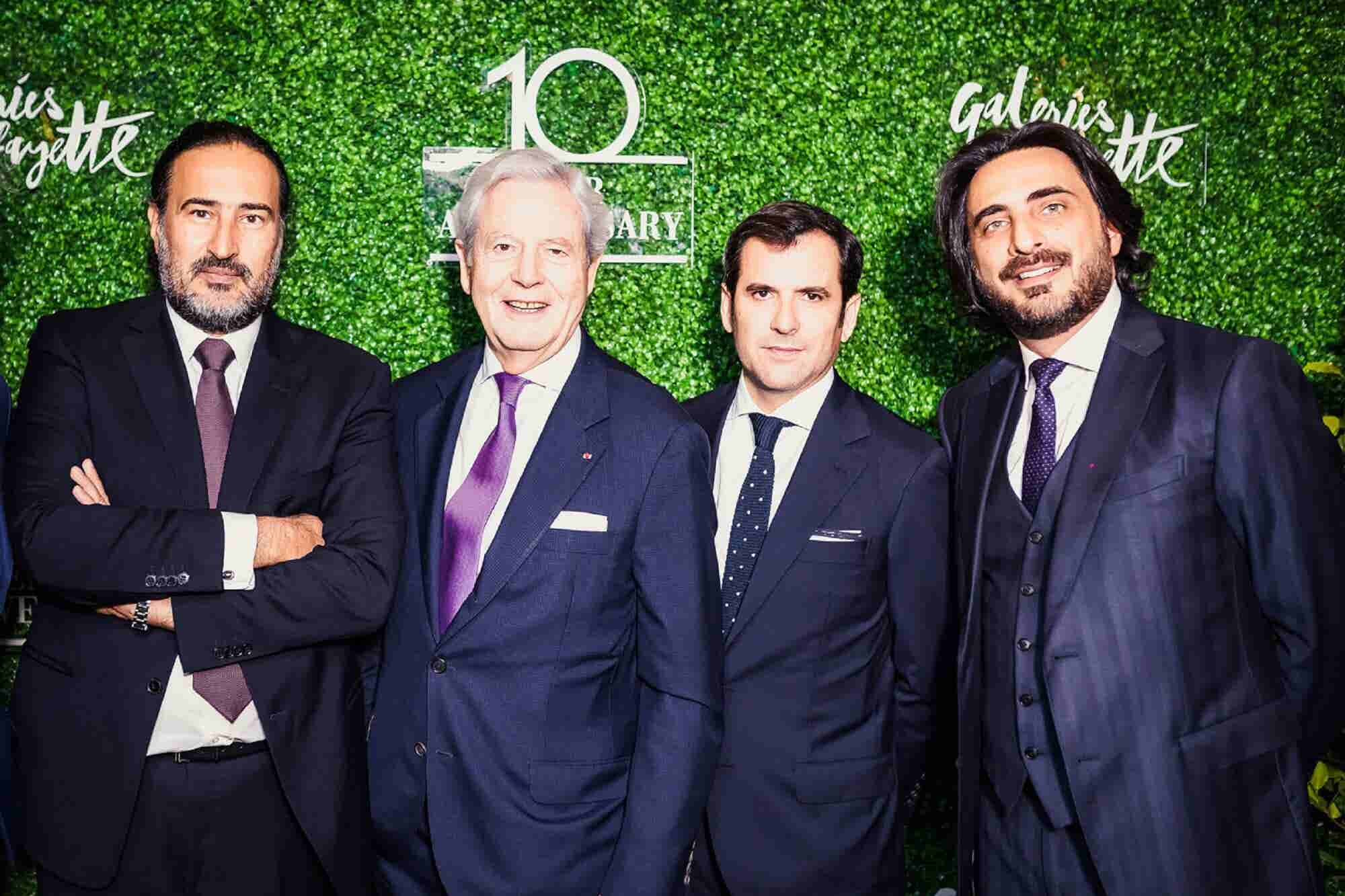 Taking Charge Of The Future: Galeries Lafayette CEO Nicolas Houzé