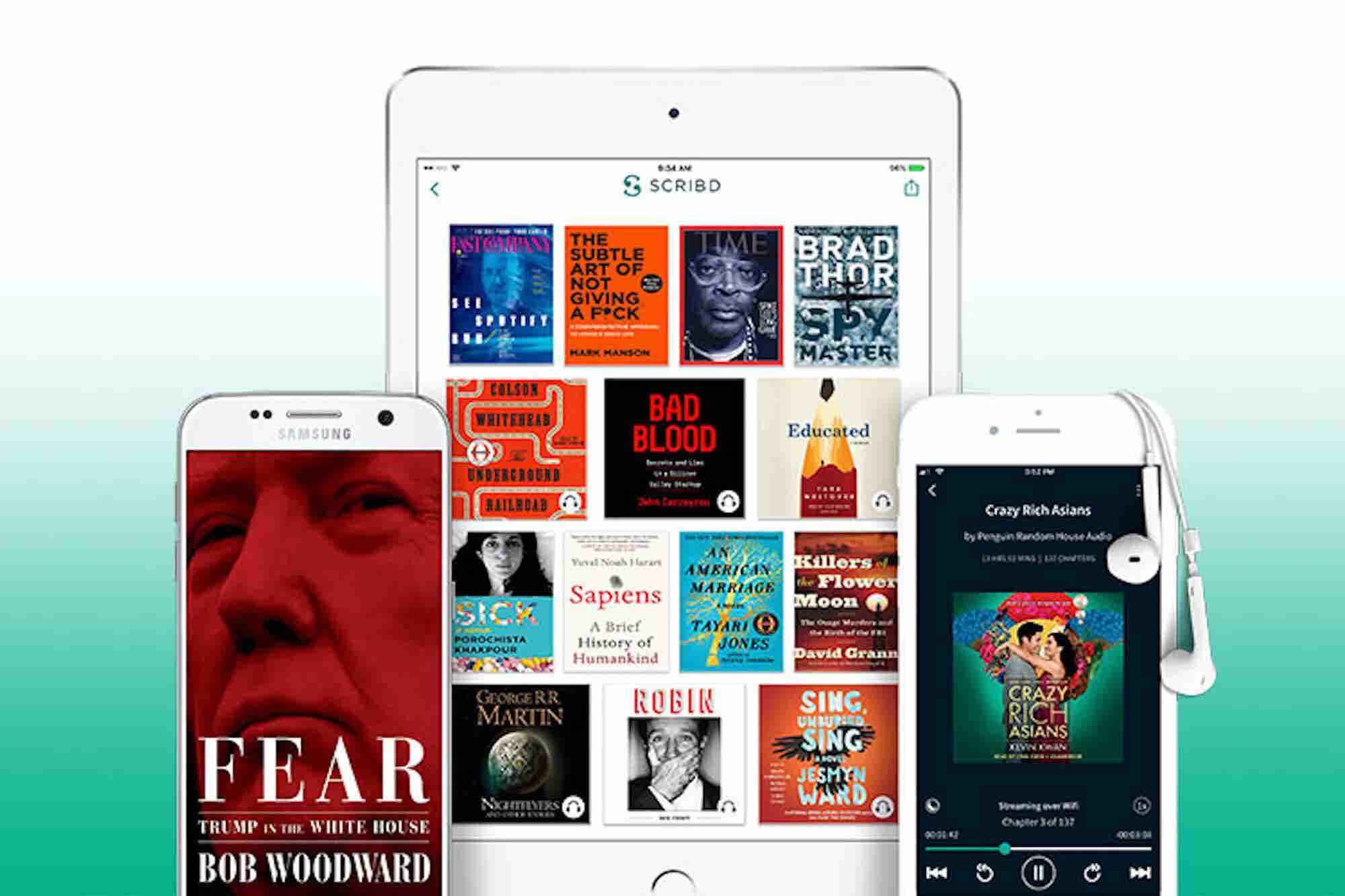 Access More Than a Million eBooks, Magazines, and News Outlets Anywhere With Scribd