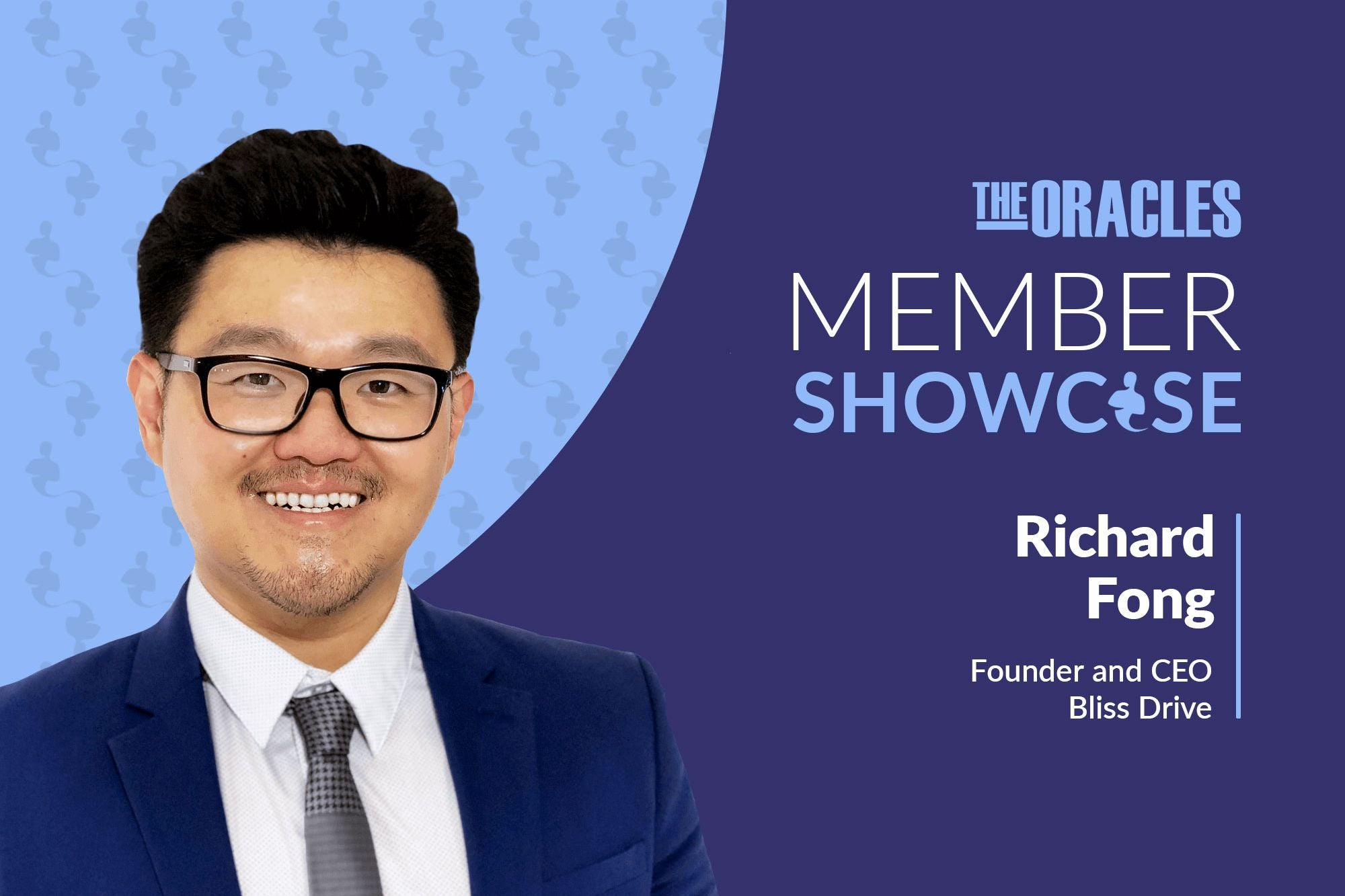 How Richard Fong Is Helping Other Entrepreneurs Find Bliss