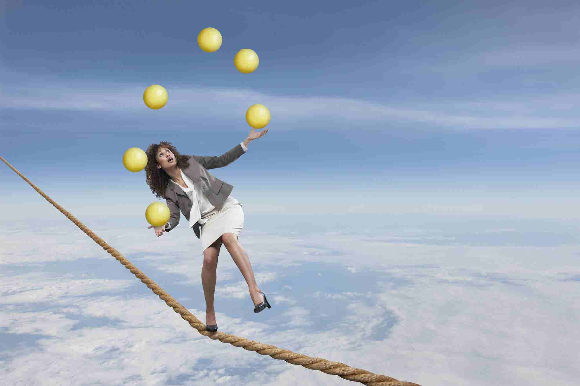 Work-Life Balance Is B.S. -- Here Are 6 Ways to Regain Your Sanity.