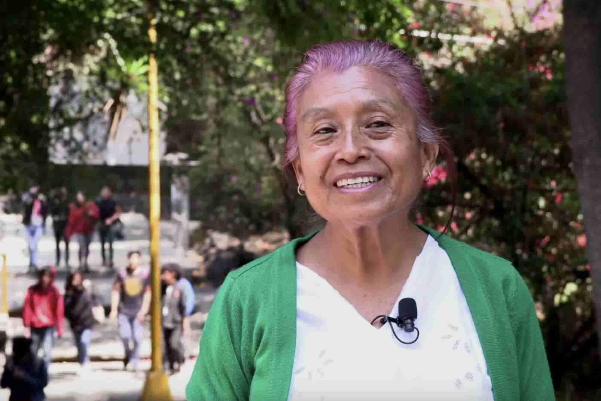 La edad no es más que un número: Tiene 63 años y es estudiante del CCH Sur