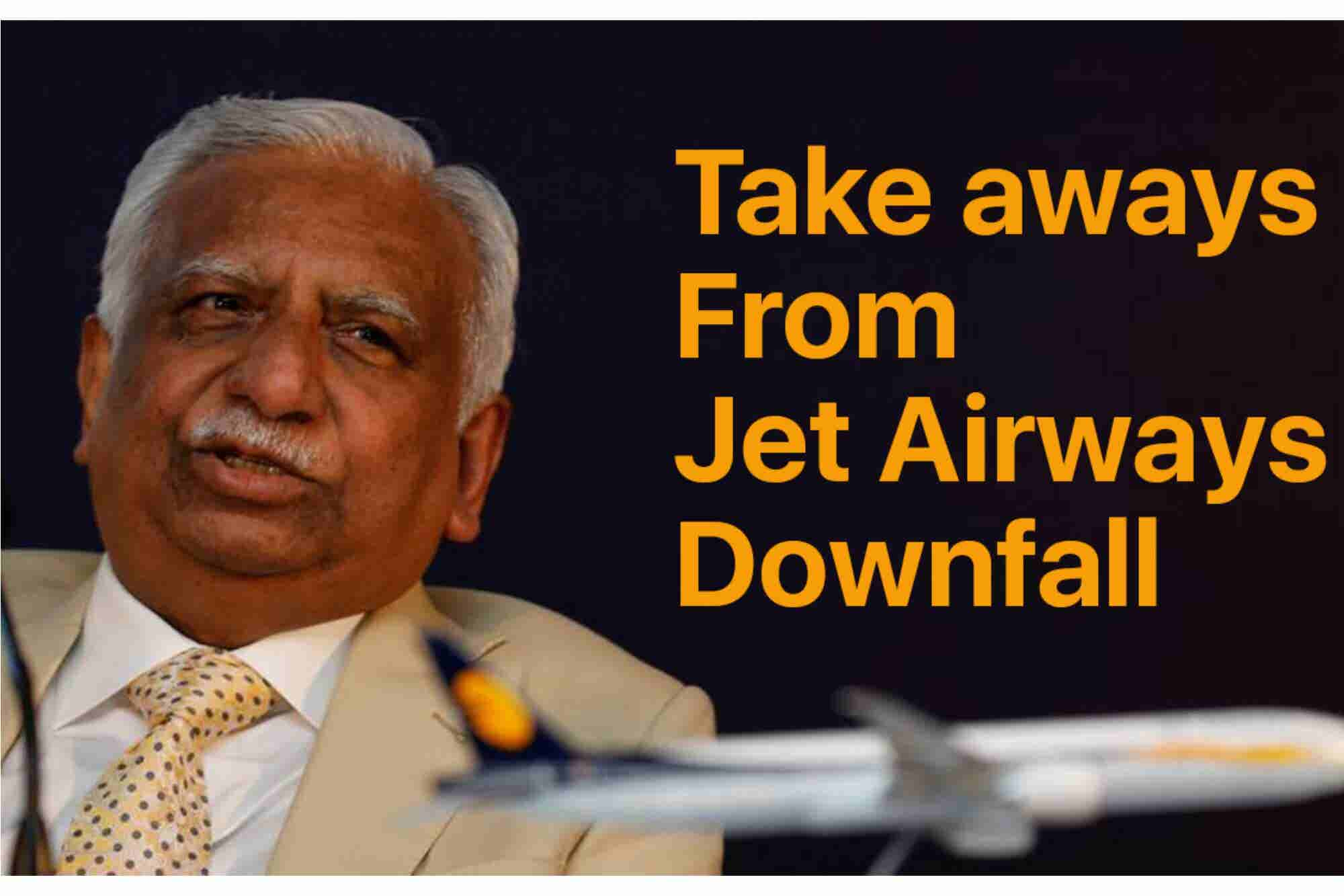 Wednesday Wisdom: 4 Takeaways From the Jet Airways' Downfall