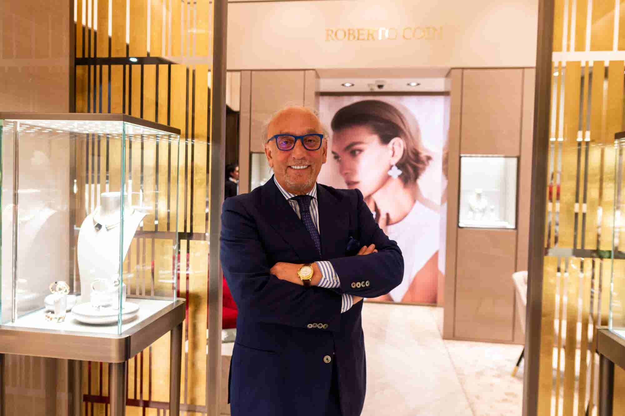 Attention To Detail: Roberto Coin On His Luxury Jewelry Brand