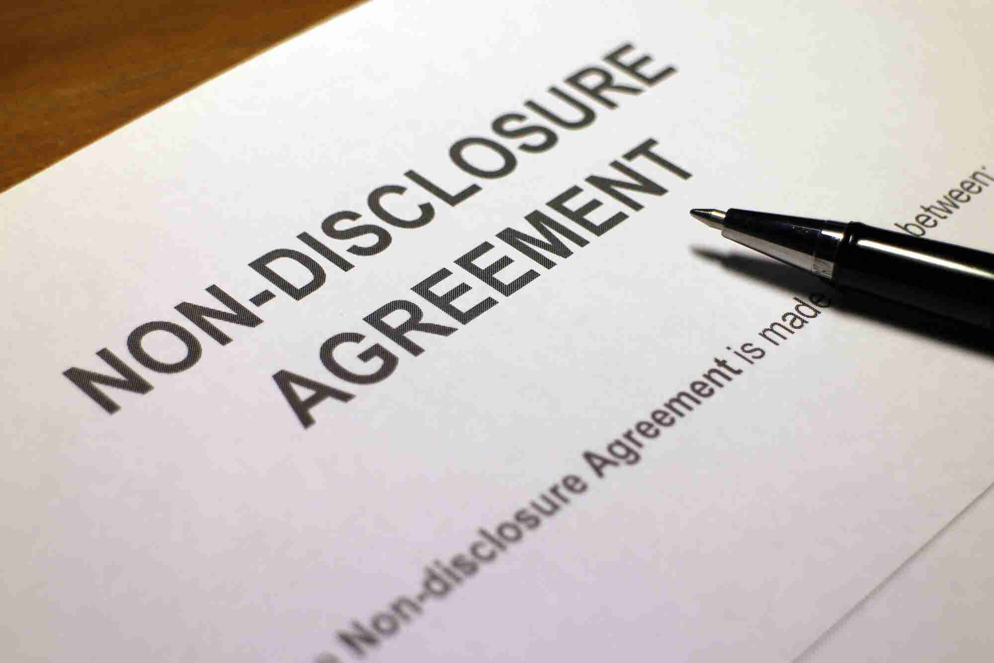 How to (Politely) Get Someone to Sign a Non-Disclosure Agreement