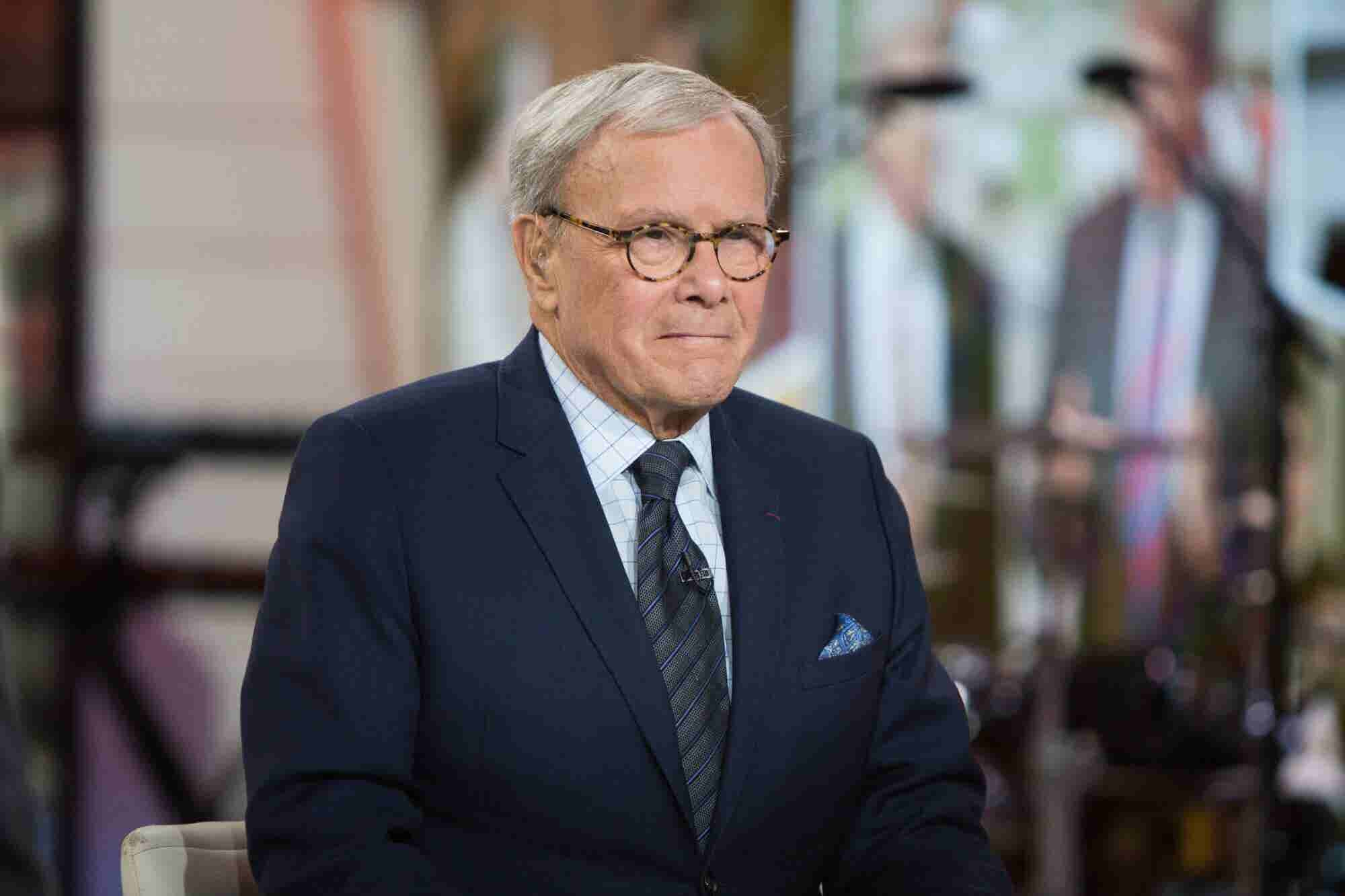 Famed Journalist and Cancer Survivor Tom Brokaw Reveals His Medical Marijuana Use