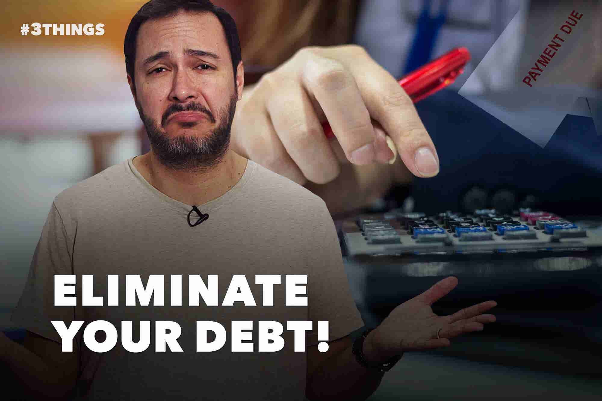 3 Tips for Dealing With Debt as an Entrepreneur (60-Second Video)